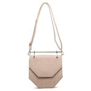 Handbags - Hexagon Hardware Crossbody